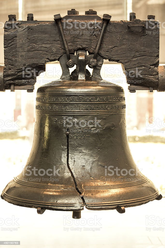 Liberty Bell Philadelphia USA stock photo