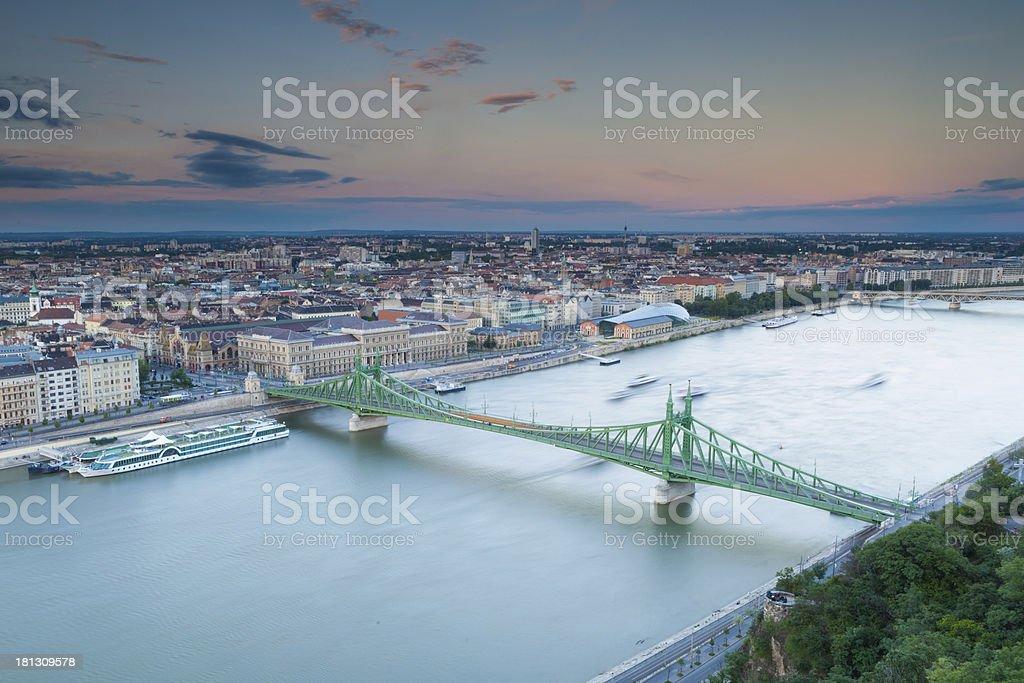 Liberty bridge royalty-free stock photo