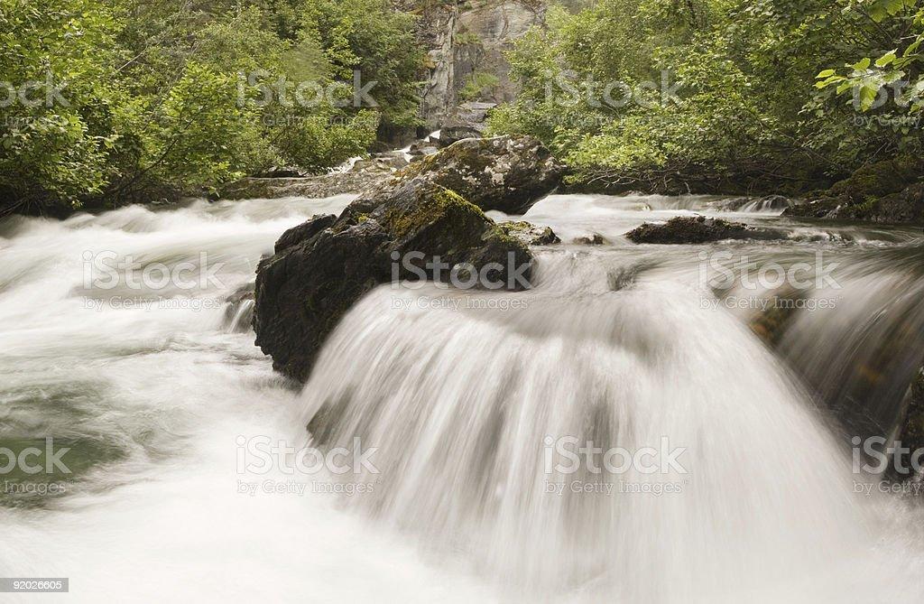 Liberty falls cascade royalty-free stock photo