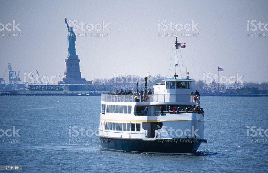 Liberty Ferry stock photo
