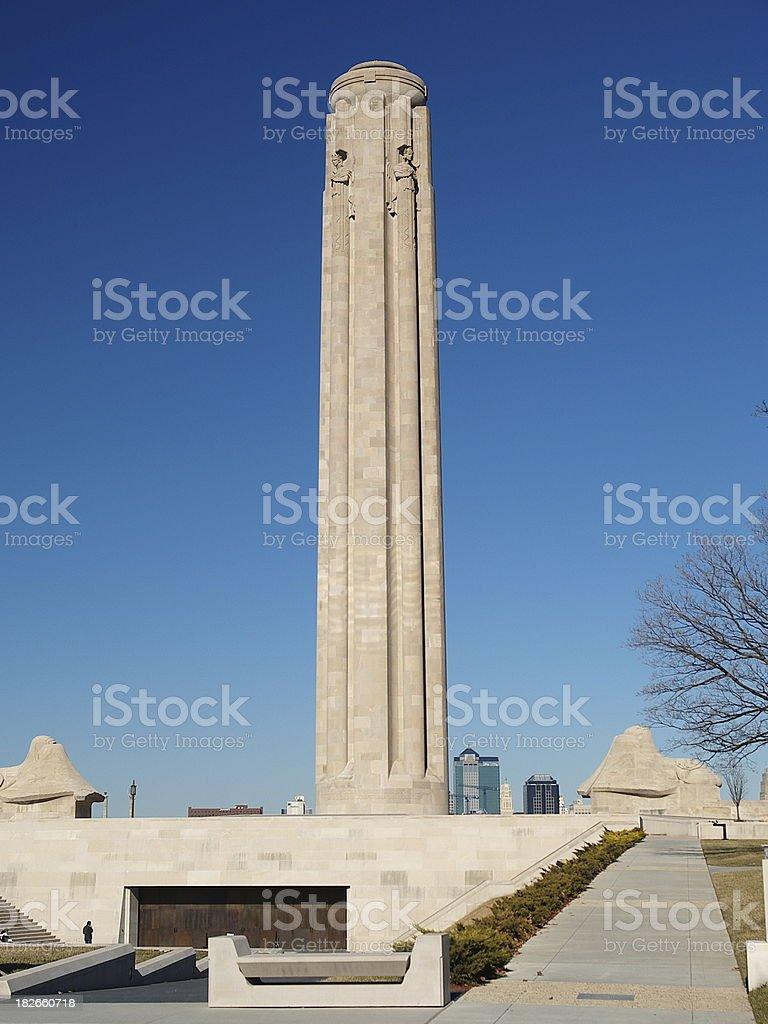 Liberty Memorial royalty-free stock photo