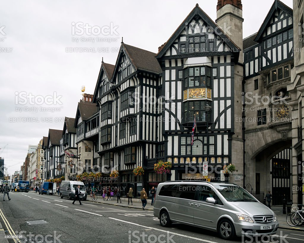 Liberty of London, Great Marlborough Street stock photo