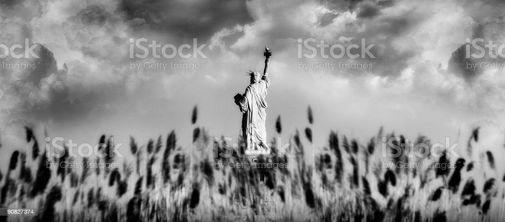 Liberty royalty-free stock photo