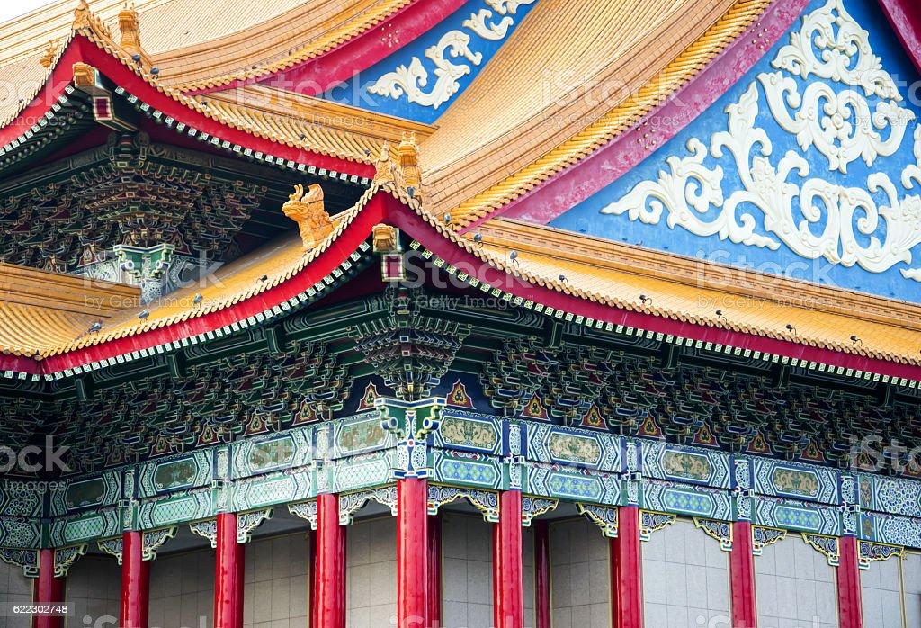 Liberty Square and chiang kai-shek memorial hall. stock photo
