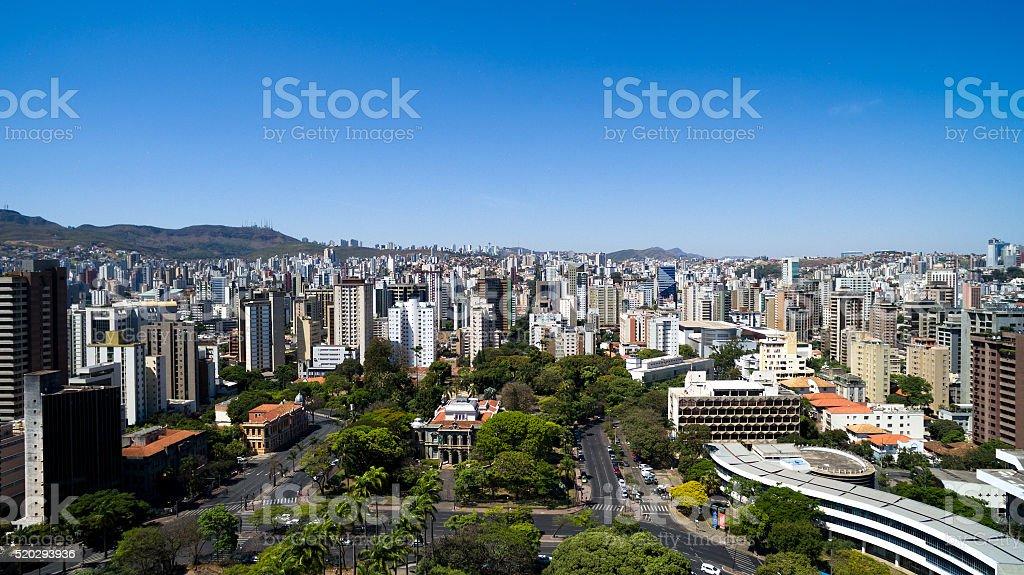 Liberty Square in Belo Horizonte, Minas Gerais, Brazil stock photo