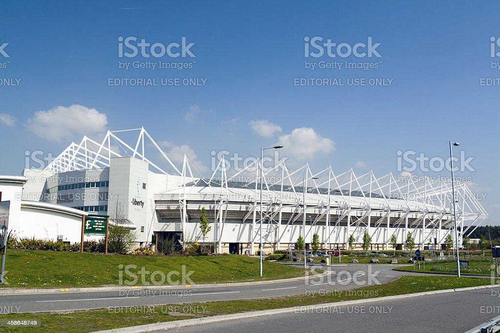 Liberty Stadium, Swansea stock photo