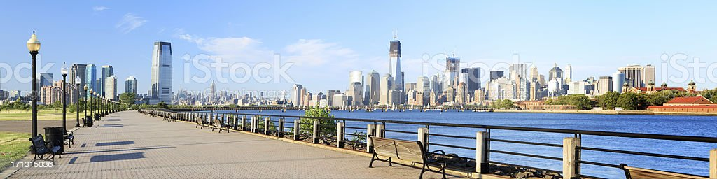 Liberty State Park stock photo