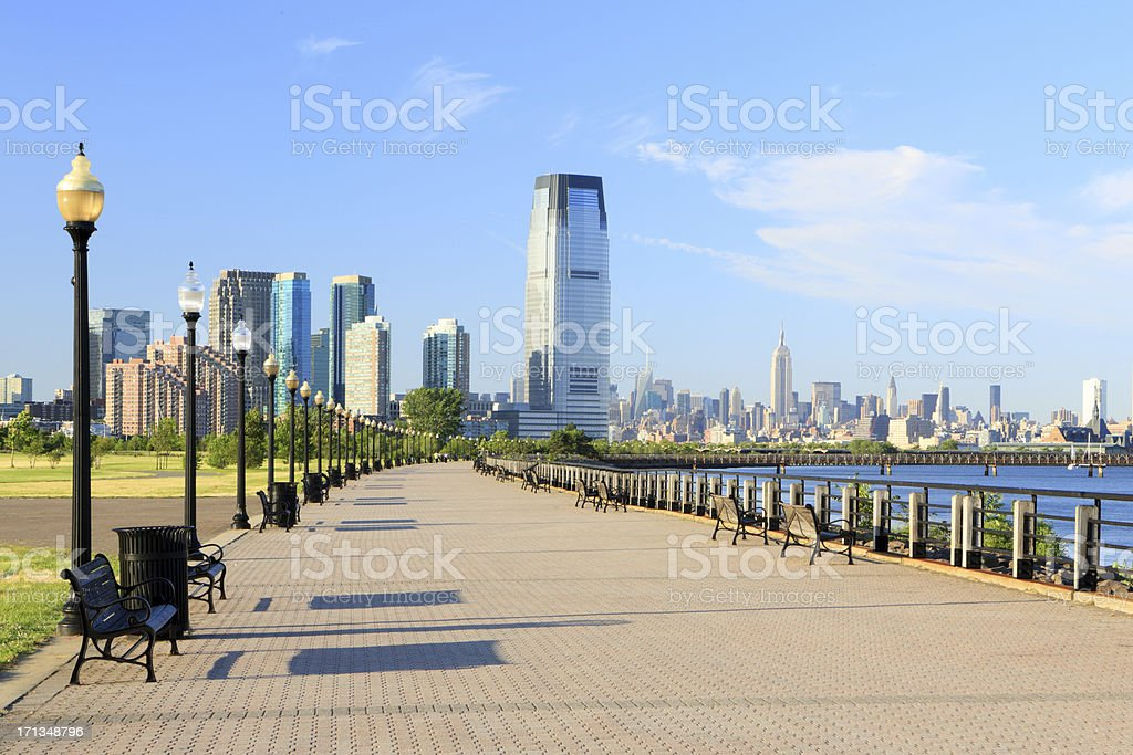 Liberty State Park royalty-free stock photo