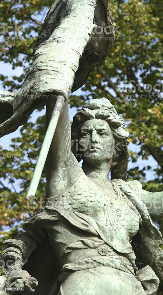 liberty statue, french revolution 1789 royalty-free stock photo