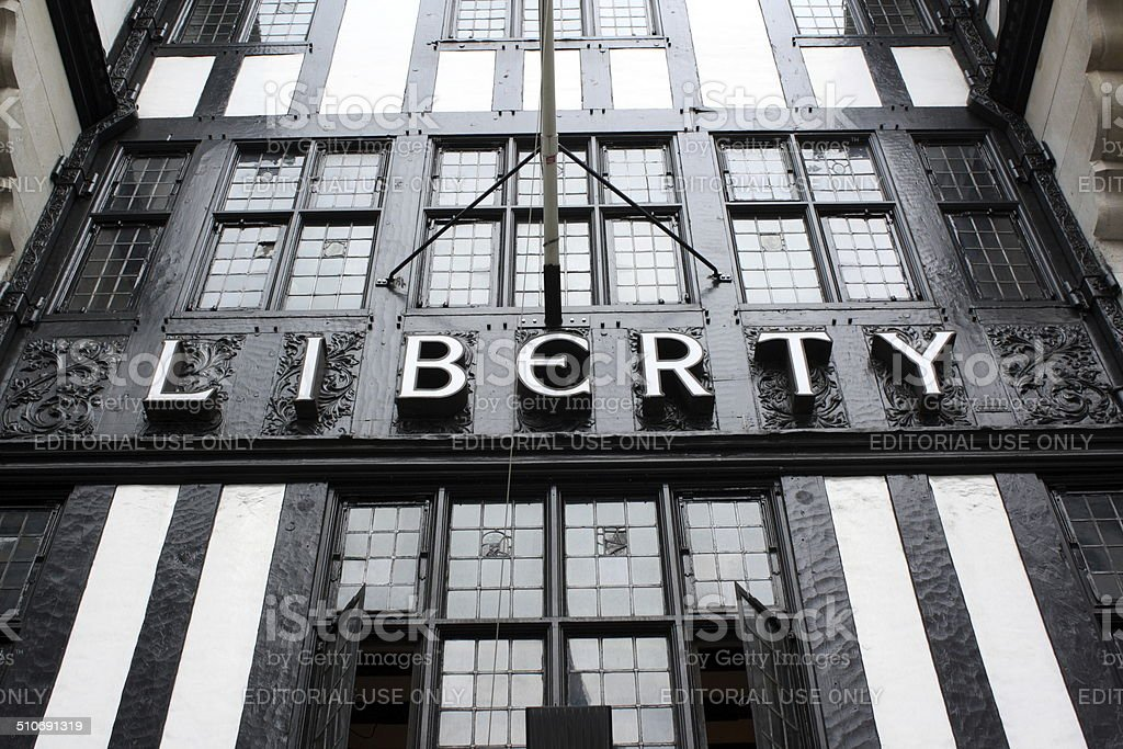 Liberty's of London stock photo