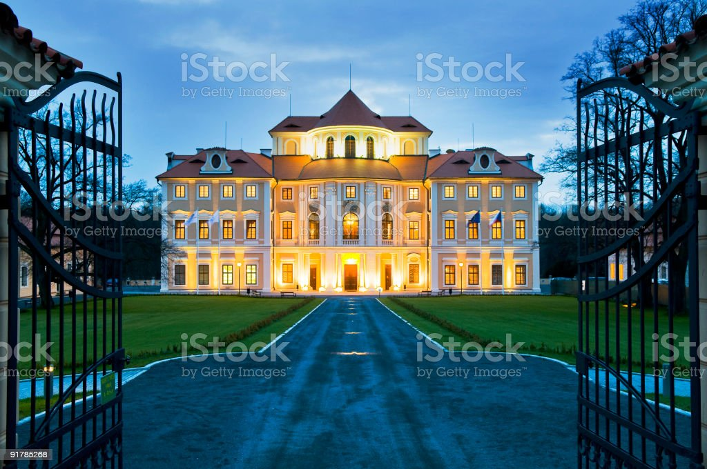 Liblice Chateau Hotel royalty-free stock photo