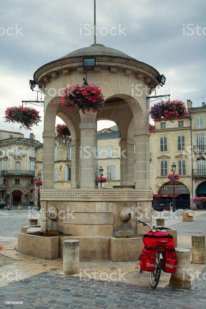 Libourne (Bordeaux, France) stock photo