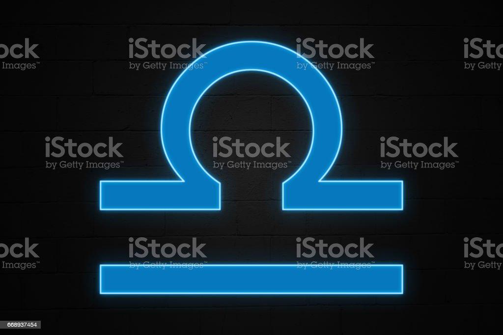 Libra - Zodiac sign stock photo
