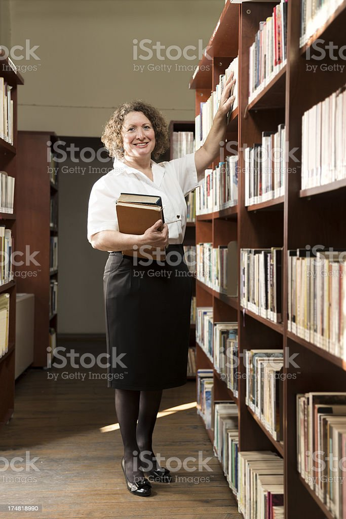 Librarian royalty-free stock photo