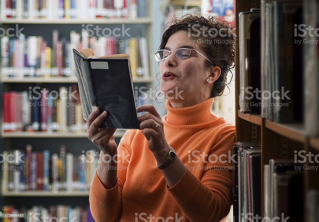 Librarian Series royalty-free stock photo