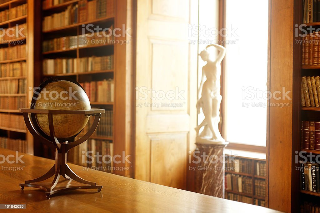 Librarian's Desk royalty-free stock photo