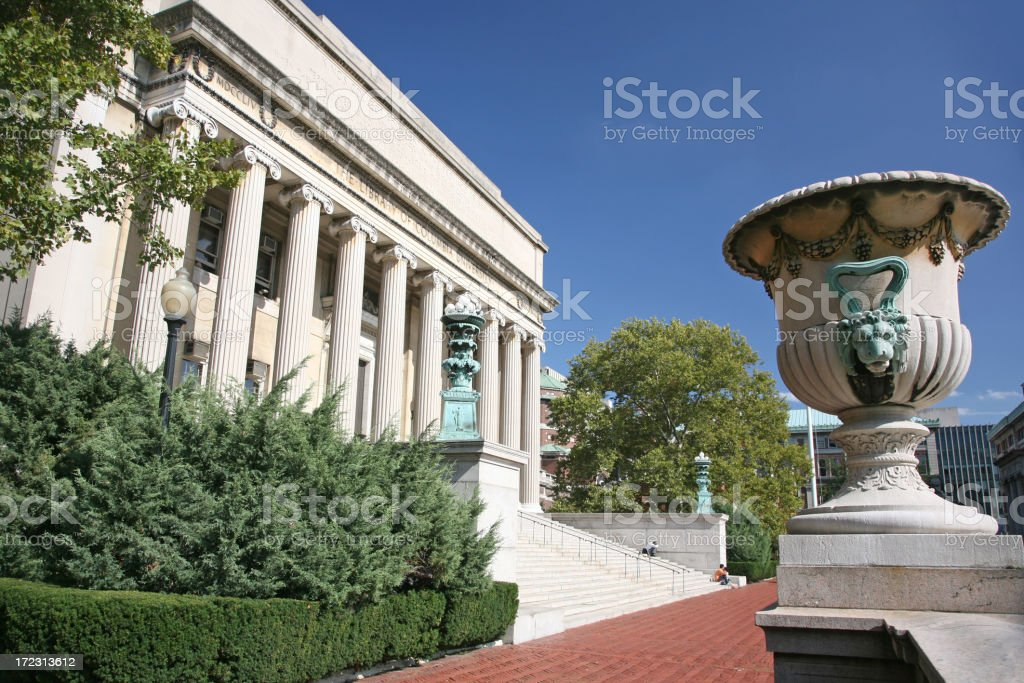 Library At Columbia University stock photo
