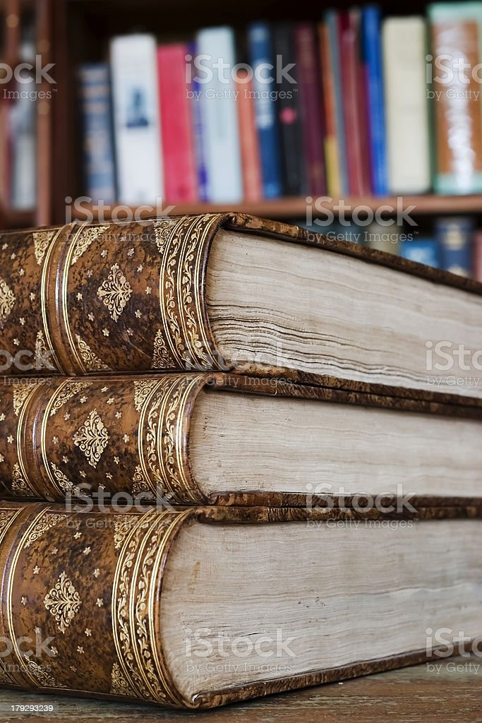Library, books royalty-free stock photo