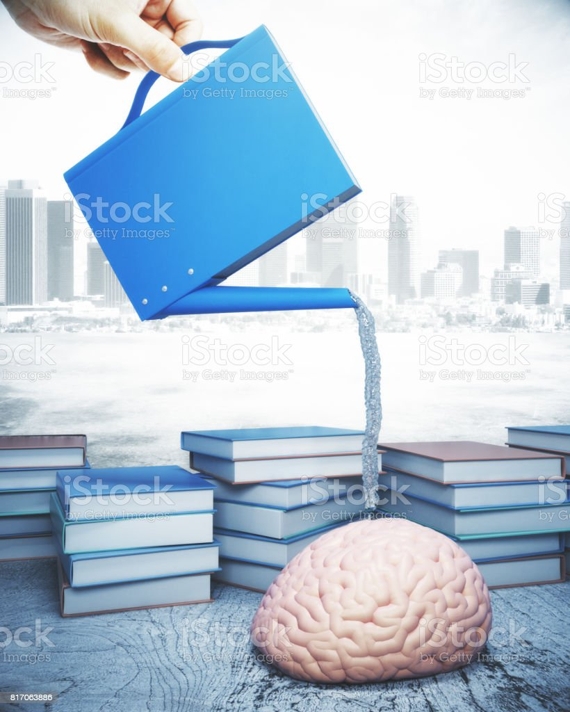 Library concept stock photo
