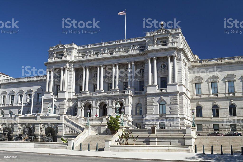 Library of Congress Washington DC Beaux-Arts Architecture stock photo