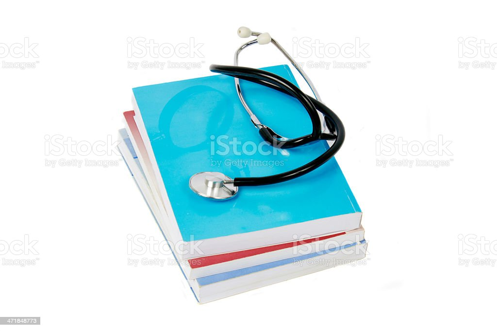 Library of medicine royalty-free stock photo