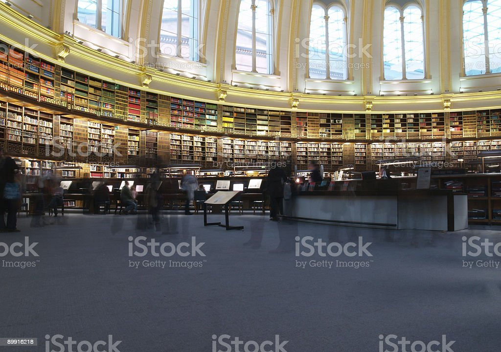 Library royalty-free stock photo