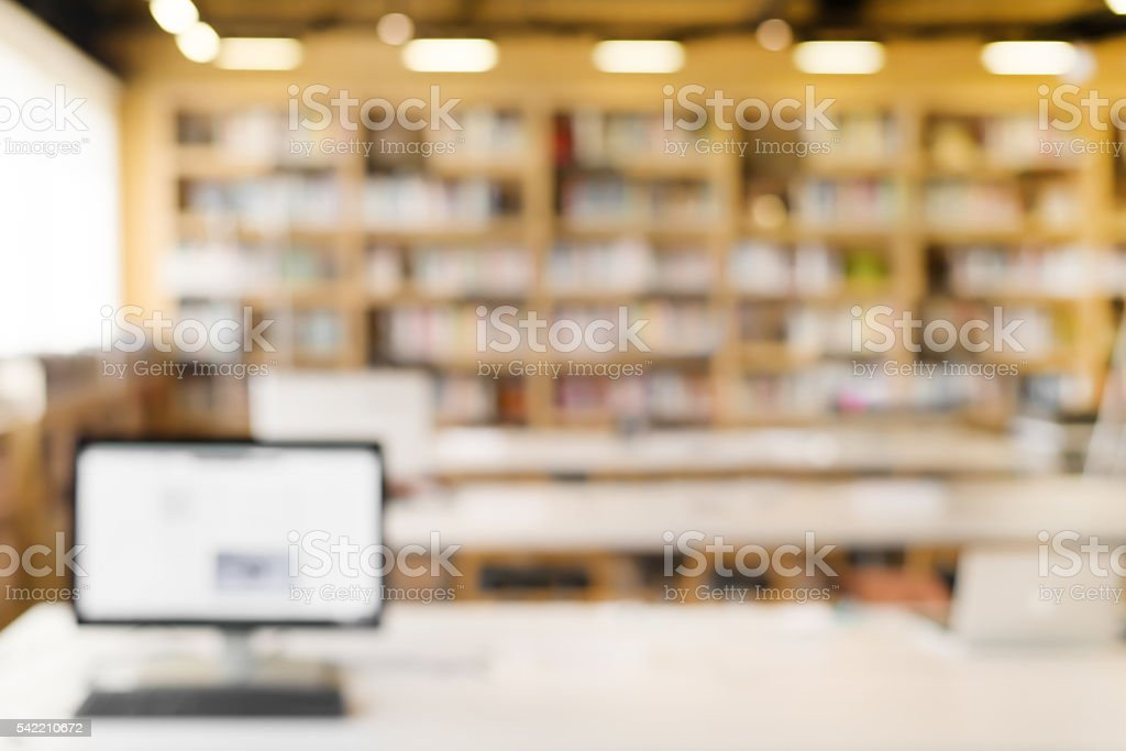 library room stock photo