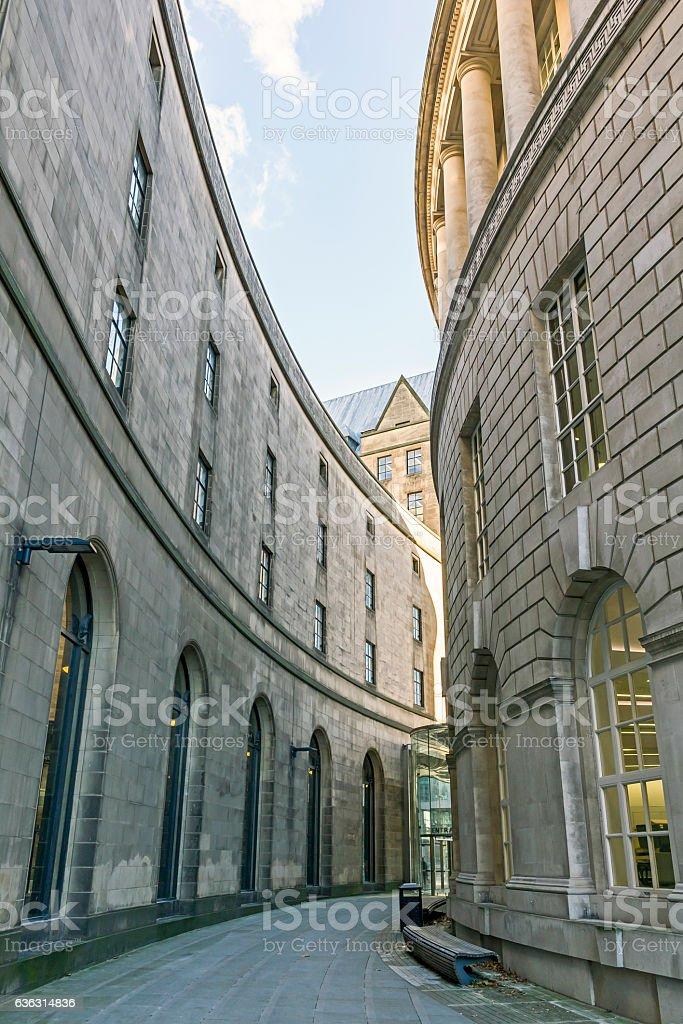 Library Walk, Manchester, uk stock photo