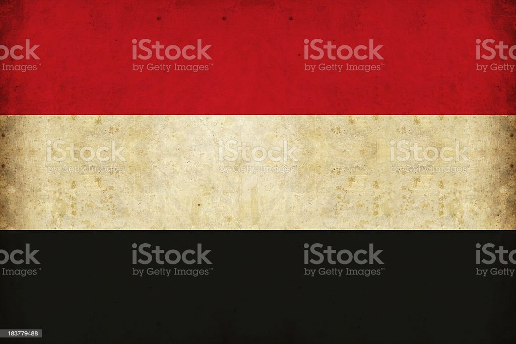 libyan flag stock photo