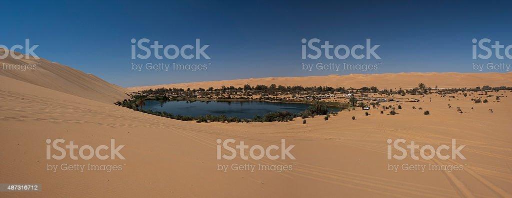 Libyan sahara desert stock photo