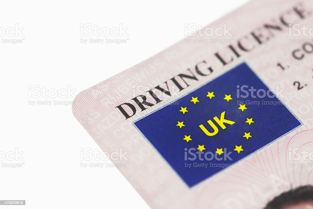 Licence stock photo