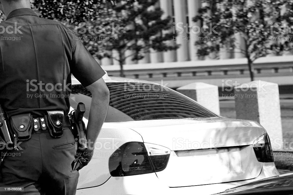 'License and Registration' royalty-free stock photo
