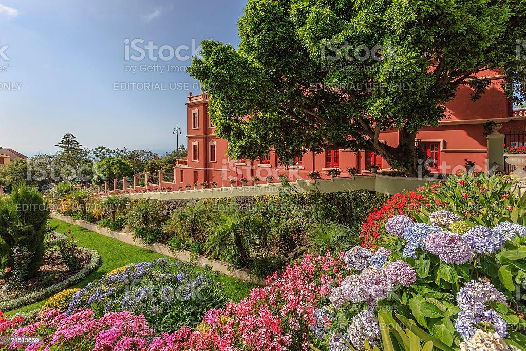 Liceo de Taoro, La Orotava, Tenerife stock photo