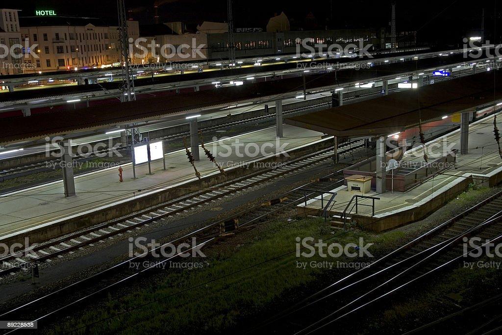 Lichtenberg at night royalty-free stock photo