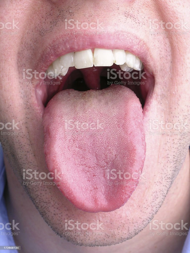 Lick it up stock photo