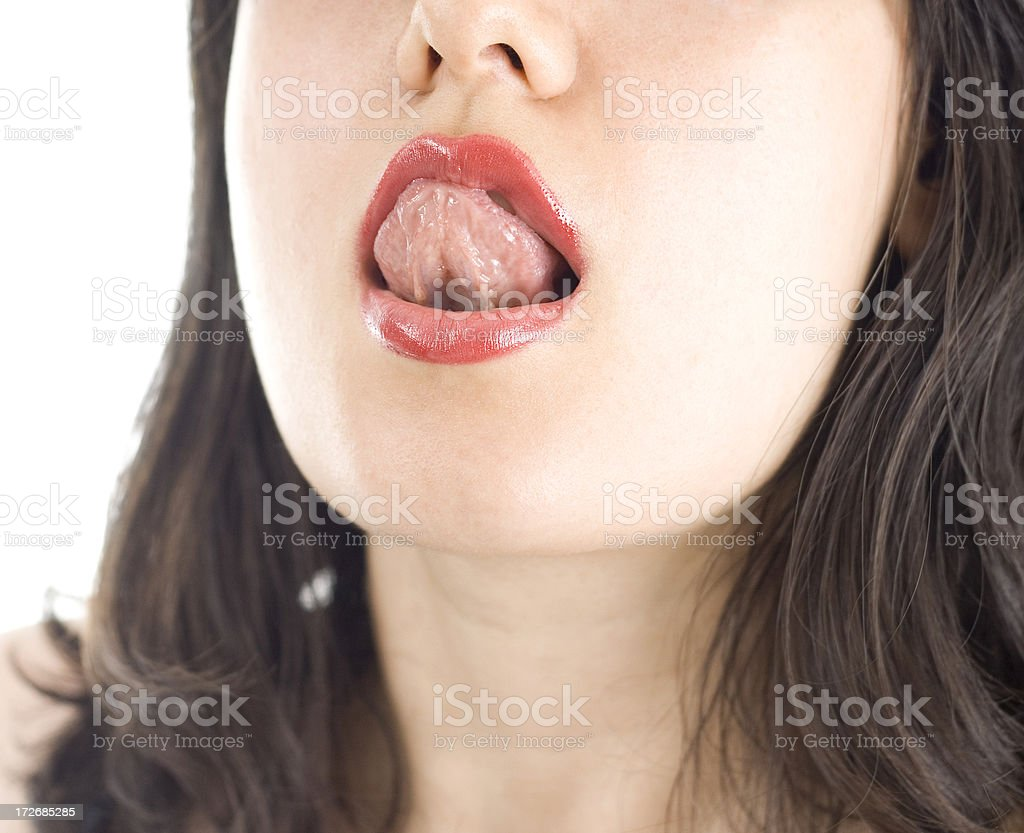 Lick royalty-free stock photo