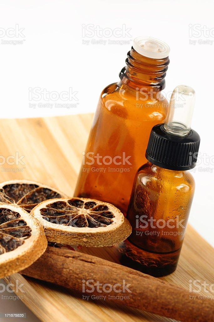 Licorice and bottle stock photo