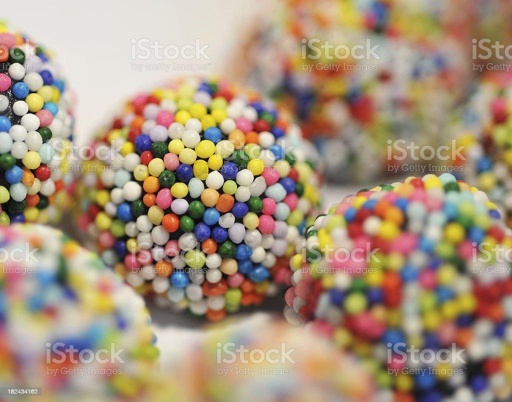 Licorice Gum Drops royalty-free stock photo