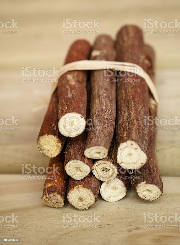 Licorice Root stock photo