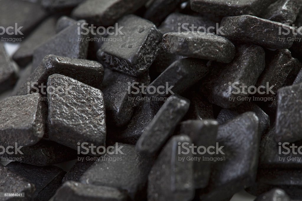 Licorice sweets stock photo