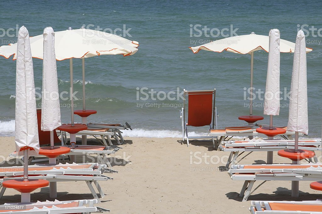 lido beach royalty-free stock photo