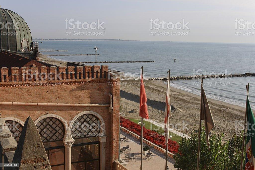 Lido, Venice royalty-free stock photo
