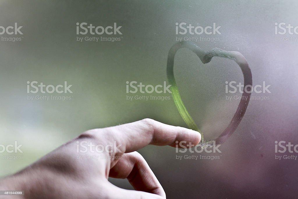 Liebeskummer stock photo