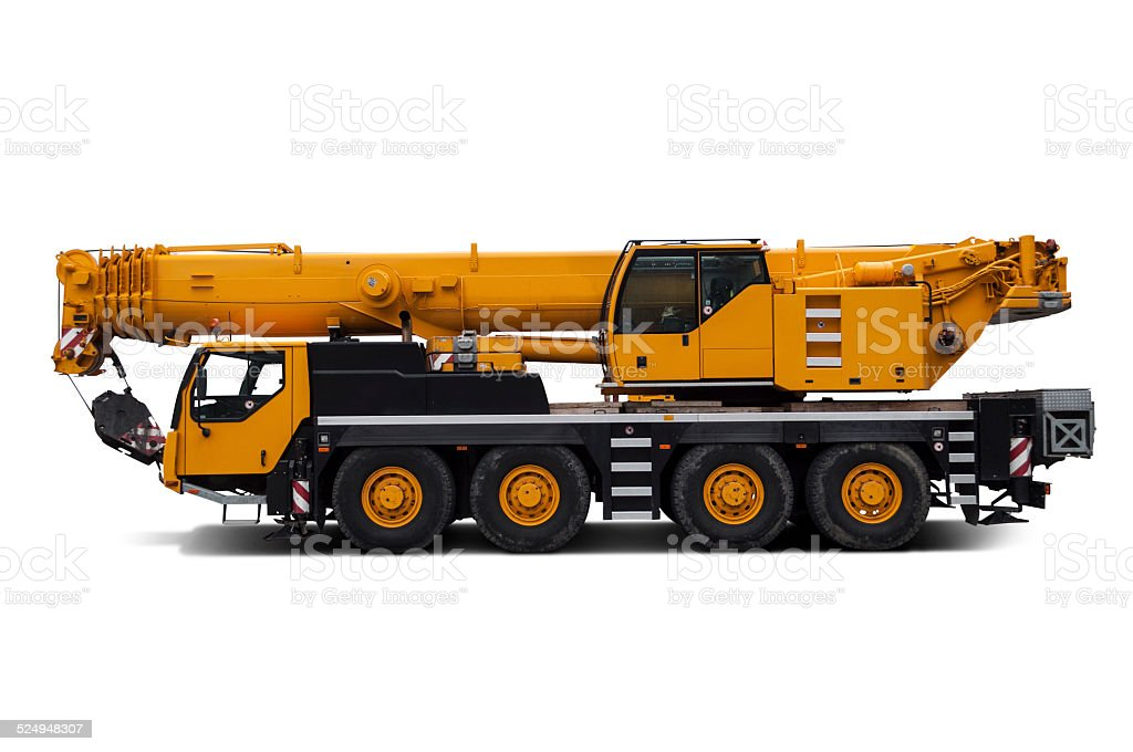 Liebherr crane. stock photo
