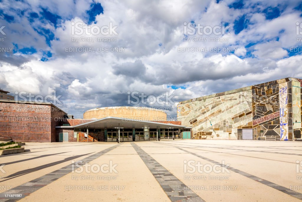 Liederhalle Stuttgart, Germany royalty-free stock photo