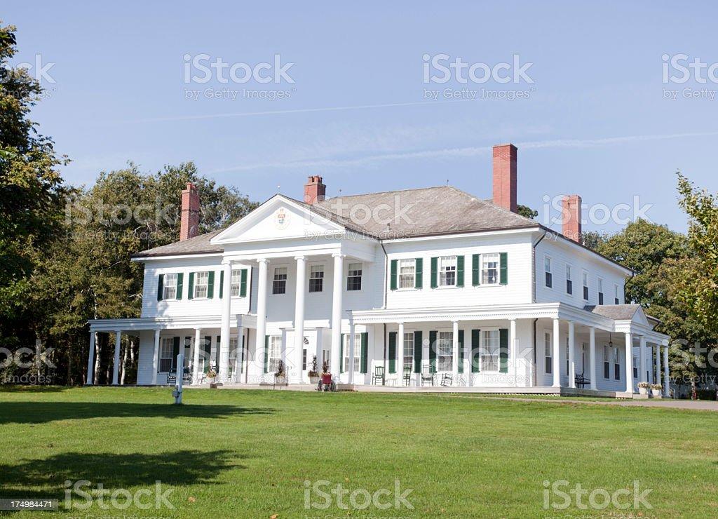 Lieutenant's Mansion stock photo