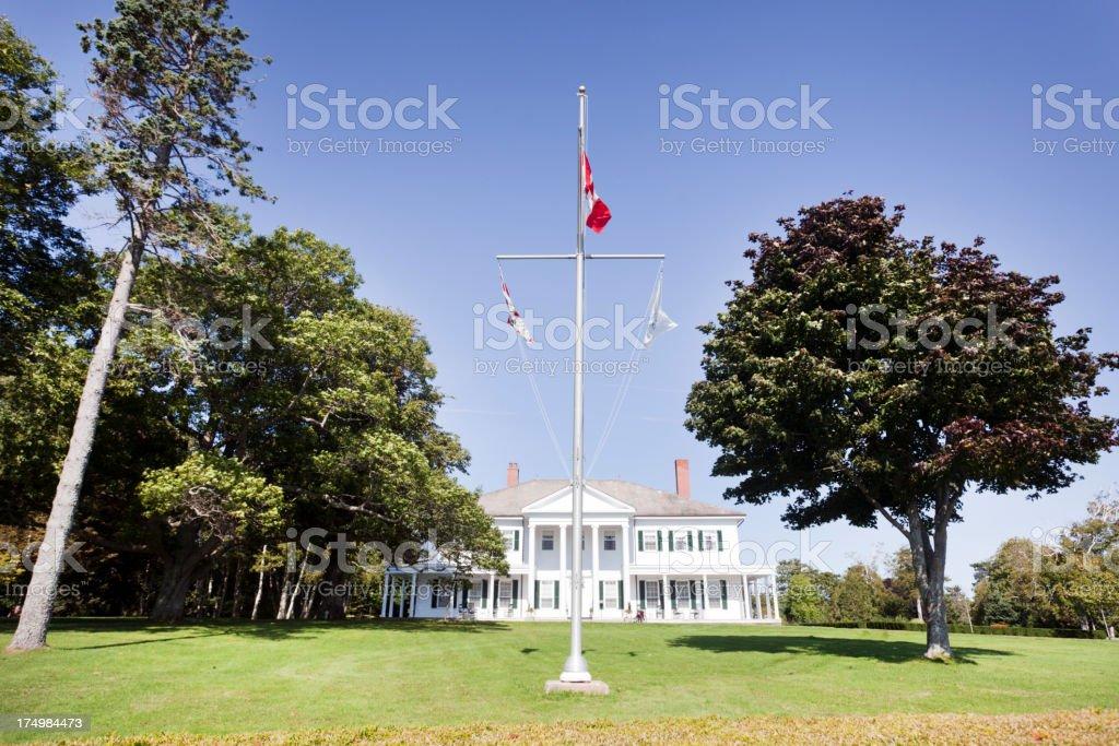 Lieutenant's Mansion royalty-free stock photo