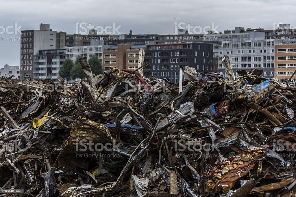 Life and trash. royalty-free stock photo