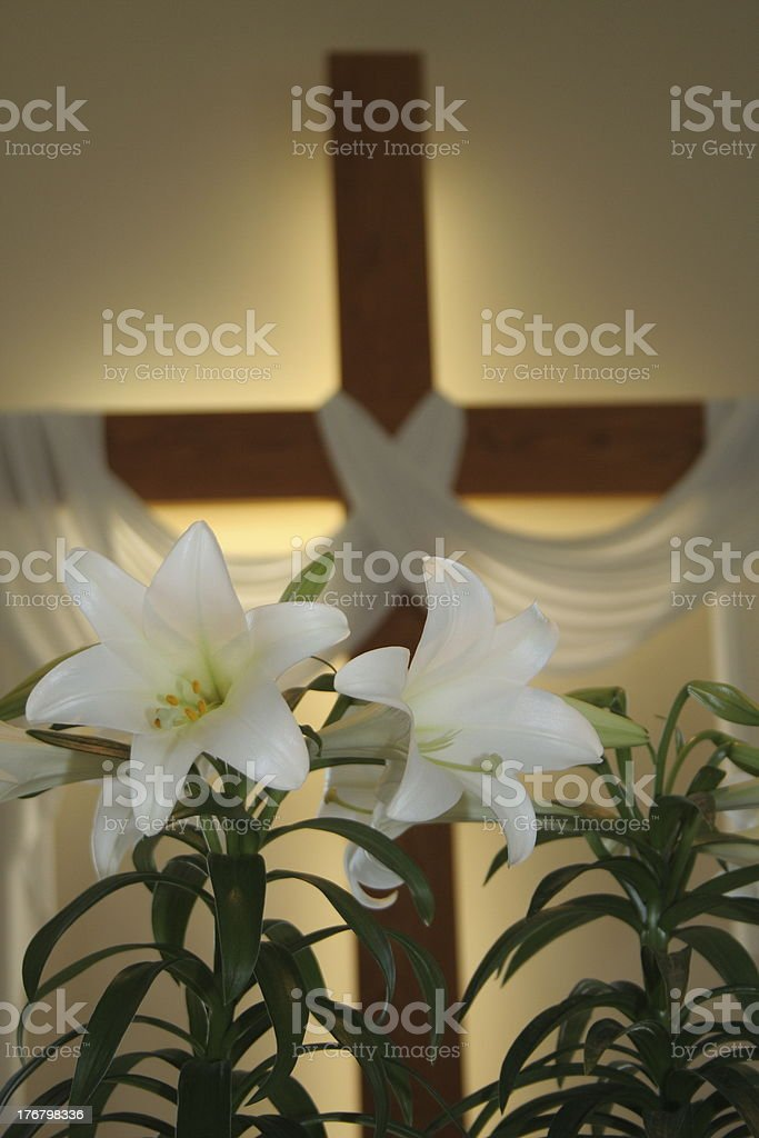 Life at the Cross stock photo