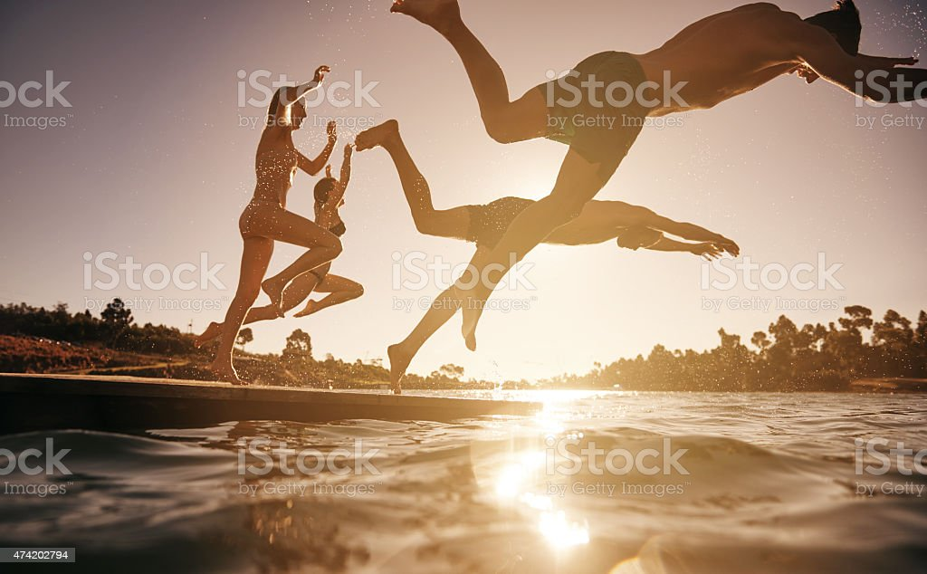 Life begins at the end of your comfort zone stock photo